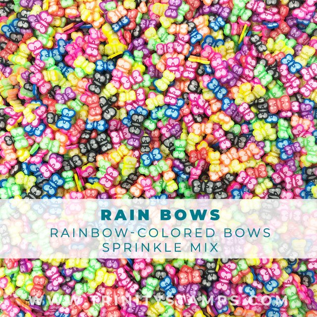 Rain Bows: Colorful Clay Bows Mix