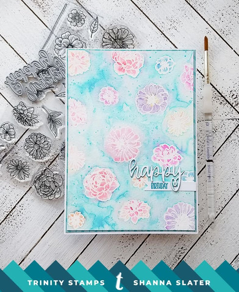 3x4 Happy Senti-mini Stamp Set