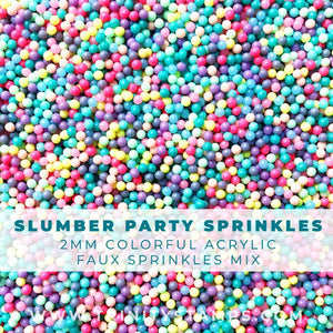 Slumber Party sprinkles Mix