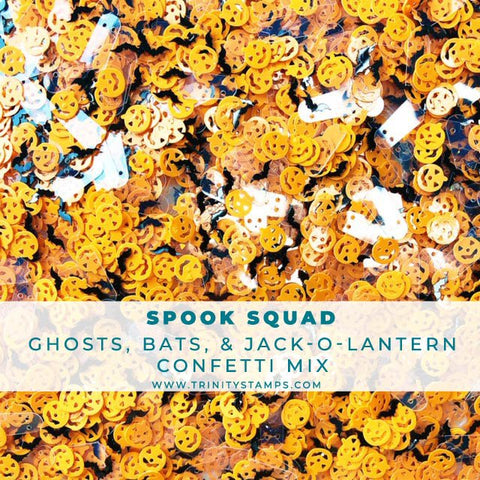 Spook Squad Confetti Embellishment Mix