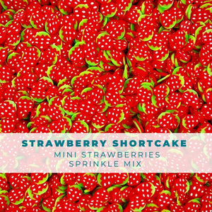 Strawberry Shortcake - Fruit Sprinkle Embellishment Mix