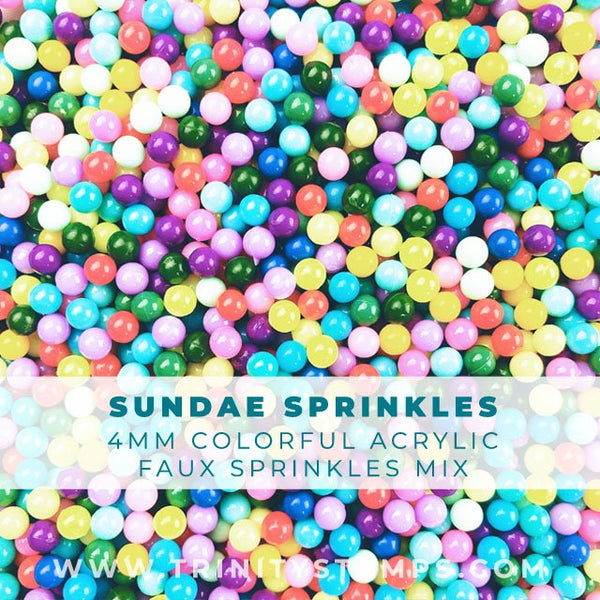 Sundae Party sprinkles Mix