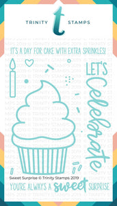 Sweet Surprise 4x6 Stamp Set