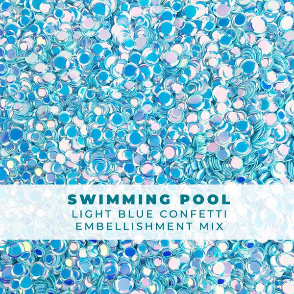 Swimming Pool Confetti Mix