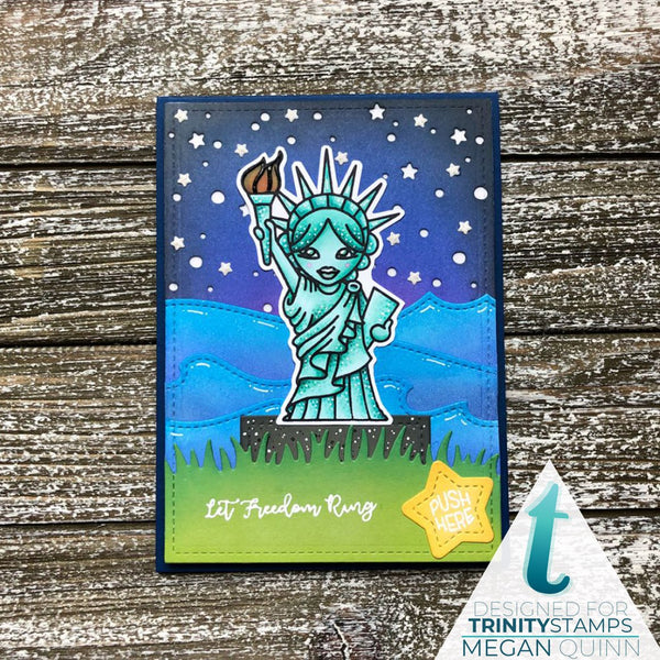 Lady Liberty Coordinating Die Set