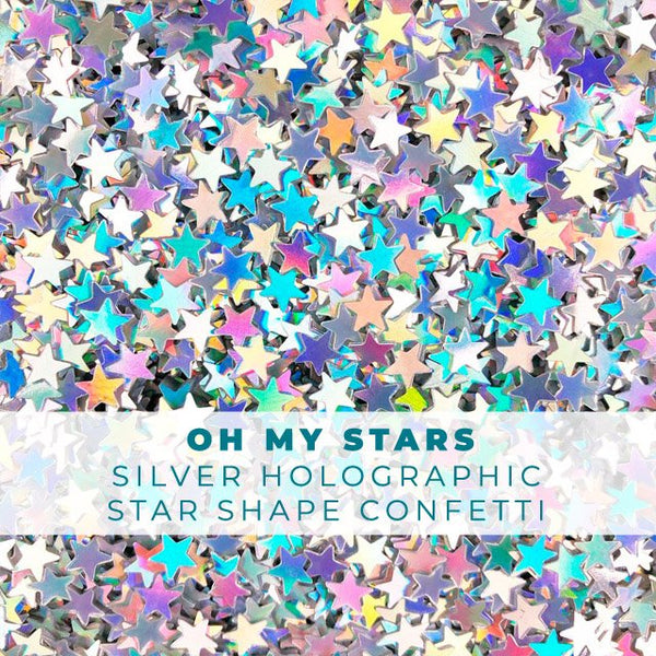 Oh My Stars Holographic Star Confetti