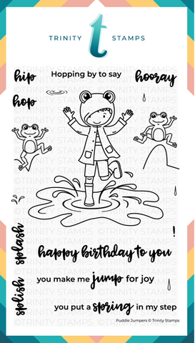 Puddle Jumpers 4x6 Stamp Set