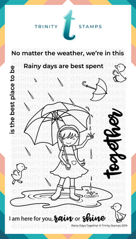 Rainy Days Together 4x6 Stamp Set
