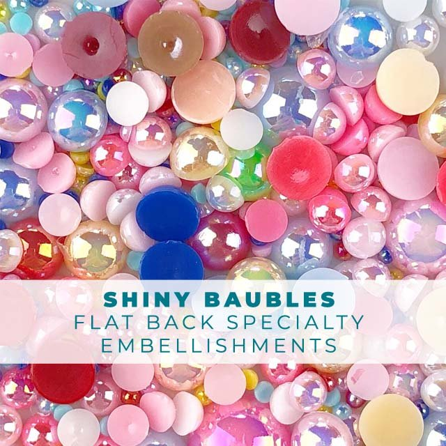 Shiny Baubles Embellishment Mix