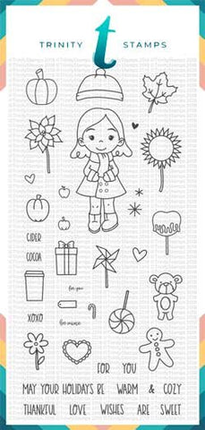 4x8 Seasonal Sweetheart Stamp Set