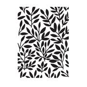 Leafy Vine Background Embossing Folder