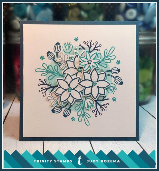 Winter Botanical 4x6 Stamp Set