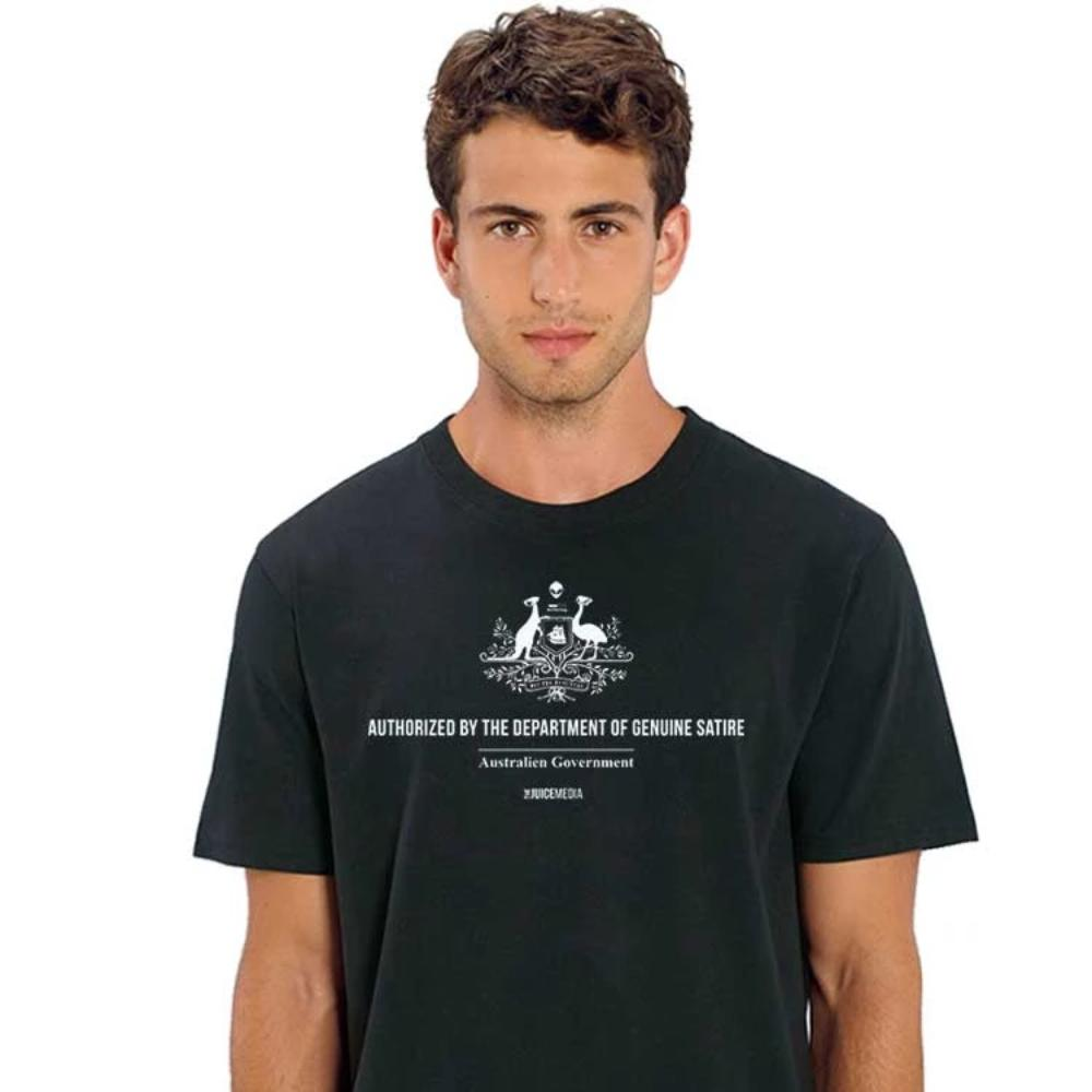 Department of Genuine Satire Tee