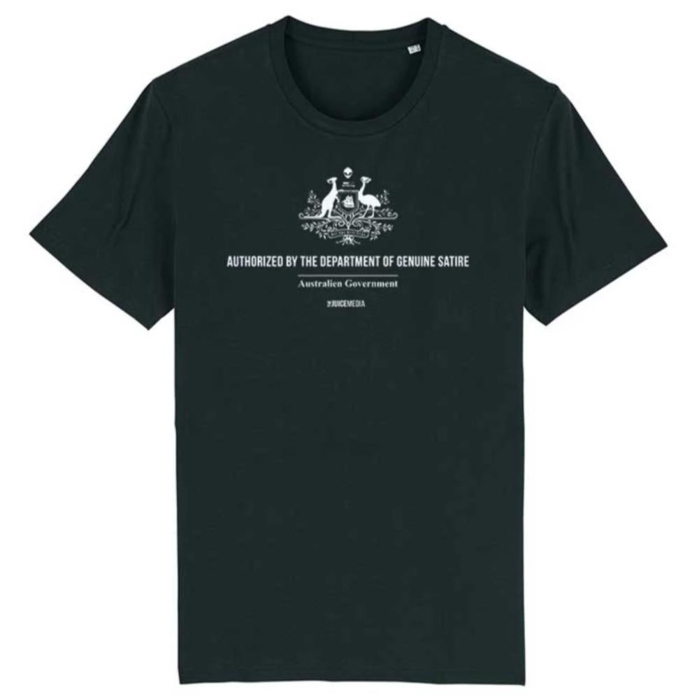 Dept of Genuine Satire, Unisex Tee -  Incl. Delivery (Australia)