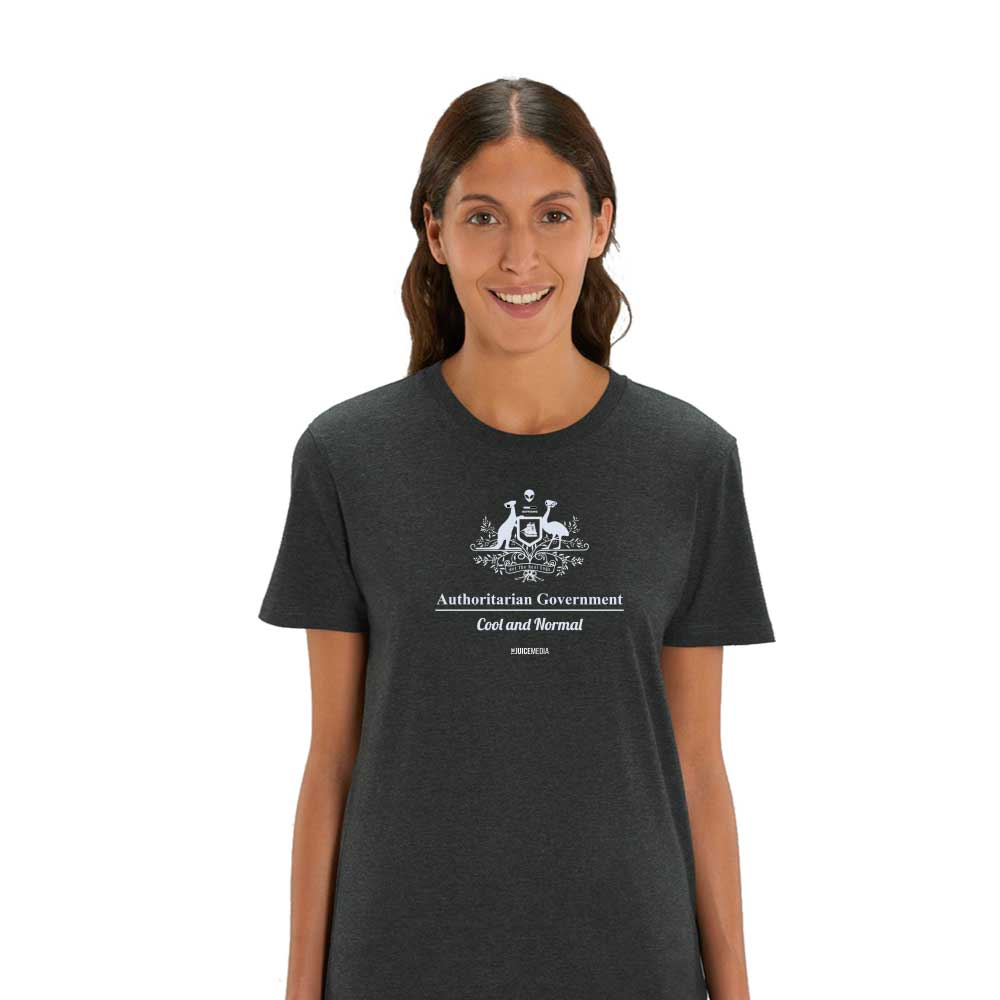 Cool and Normal, Unisex Tee, Black -  Incl. Delivery (Australia)