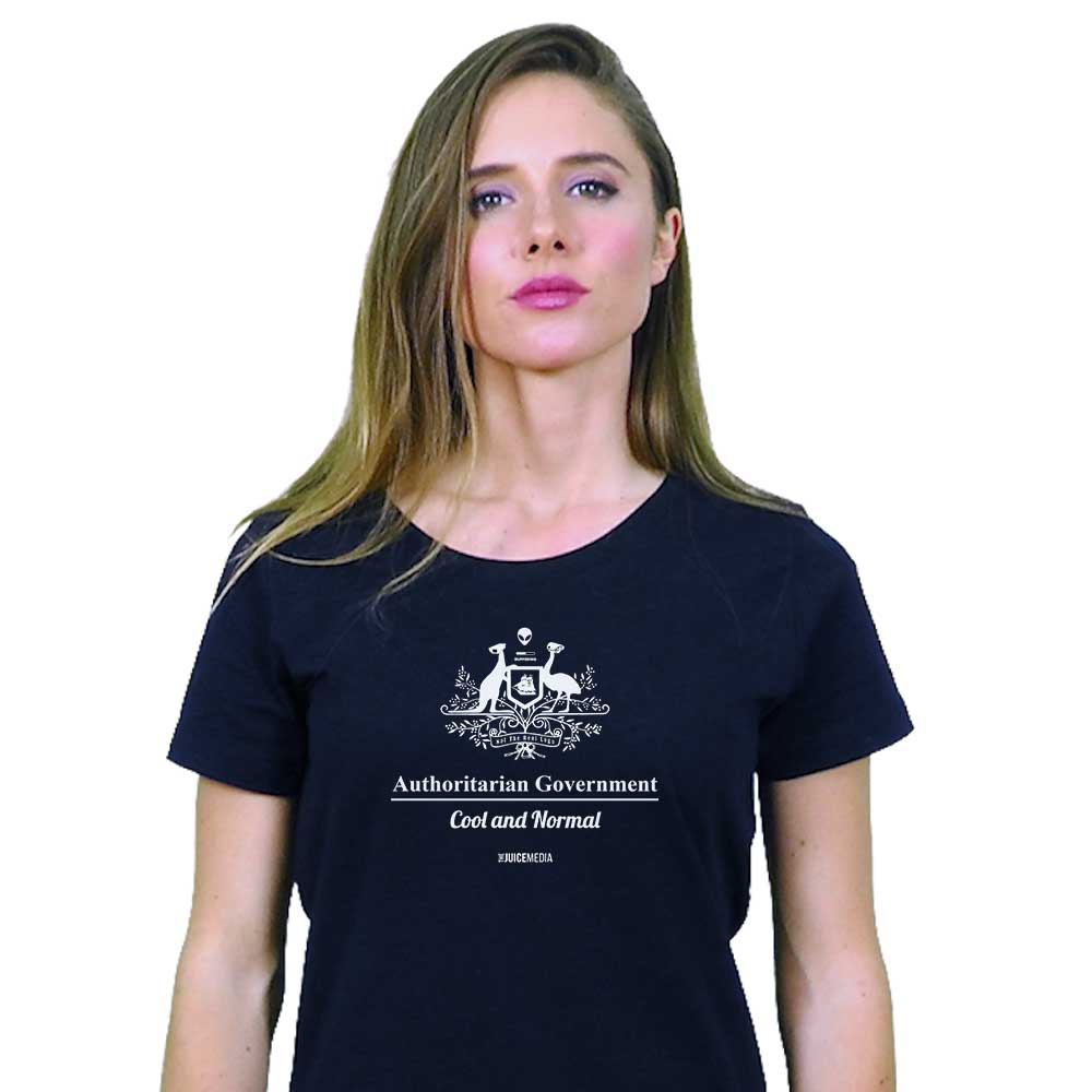 Cool and Normal, Ladies Tee - Incl. Delivery (Australia)