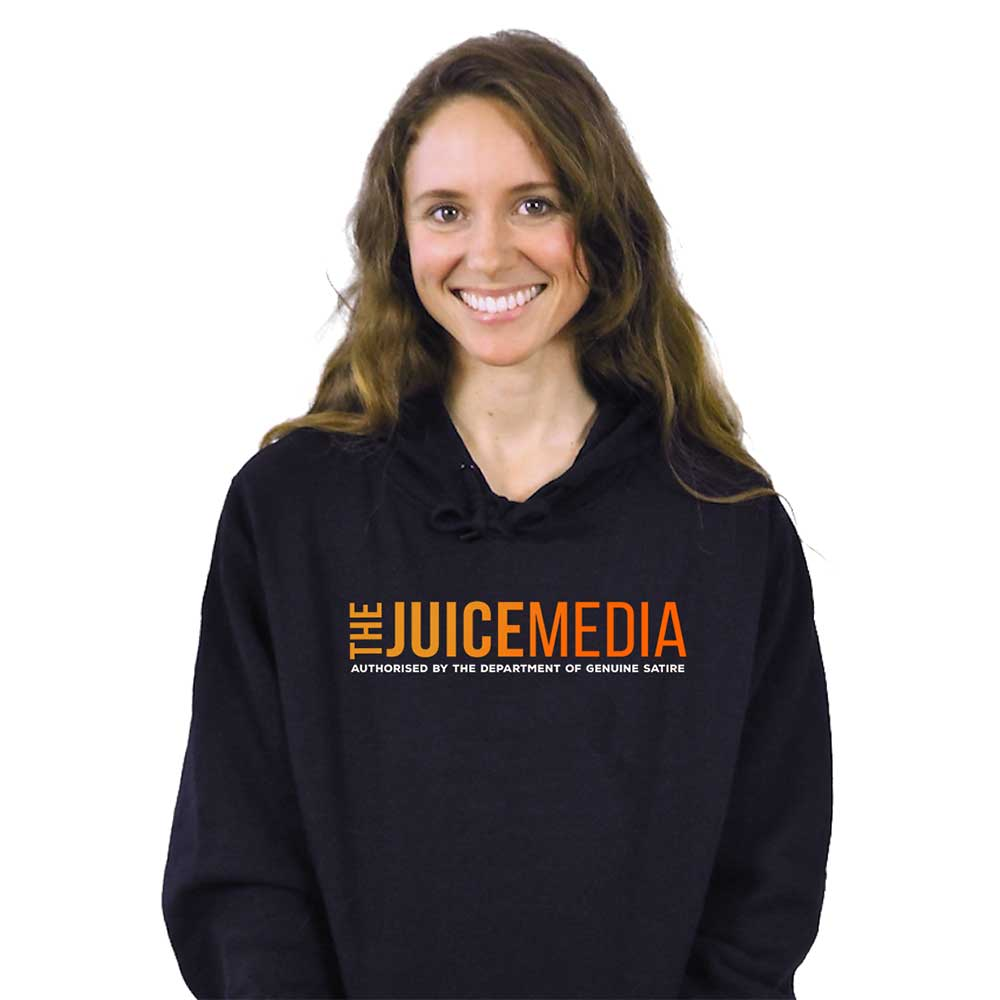 The Juice Media, Hoodie, Black - Incl. Delivery (Australia)