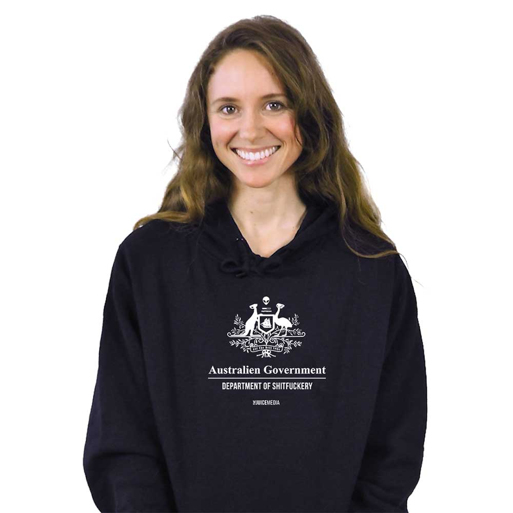Dept of Sh*tf*ckery, Hoodie, Black - Incl. Delivery (Australia)