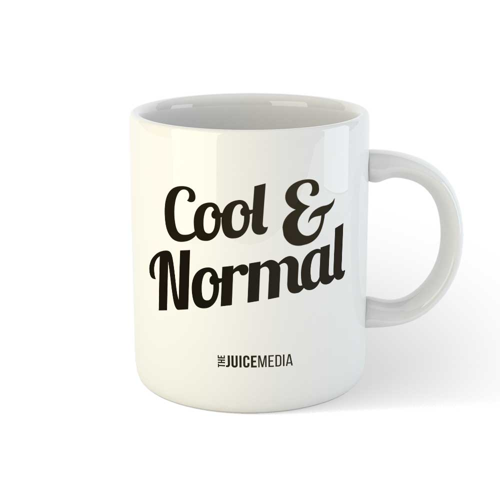 Cool and Normal (NEW), Mug - Incl. Delivery (Australia)