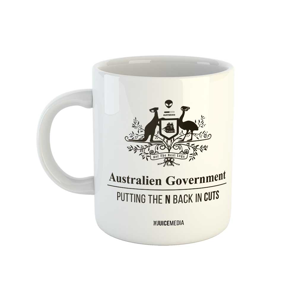 CUTS, Mug - incl. delivery within Australia