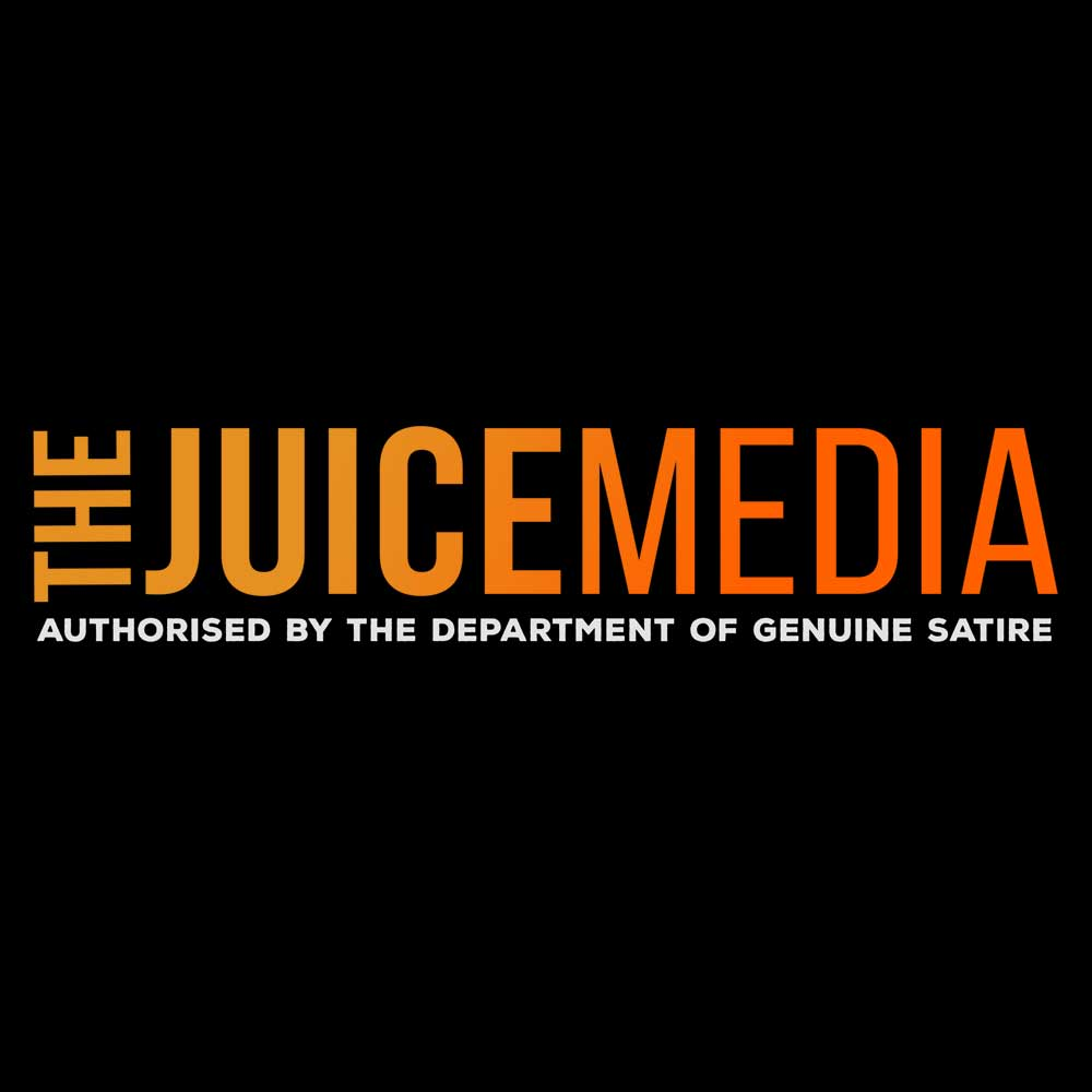 The Juice Media, Unisex Tee, Black -  Incl. Delivery (Australia)