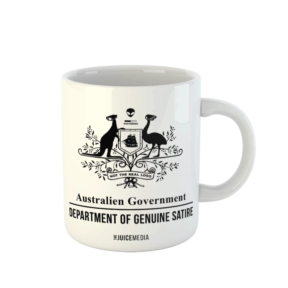 Dept of Genuine Satire, Mug - Incl. Delivery (Australia)