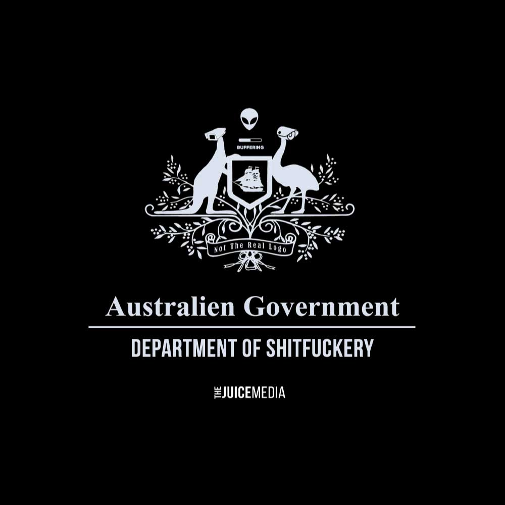 Dept of Shitfuckery, Unisex Tee, Black - Incl. Delivery (Australia)