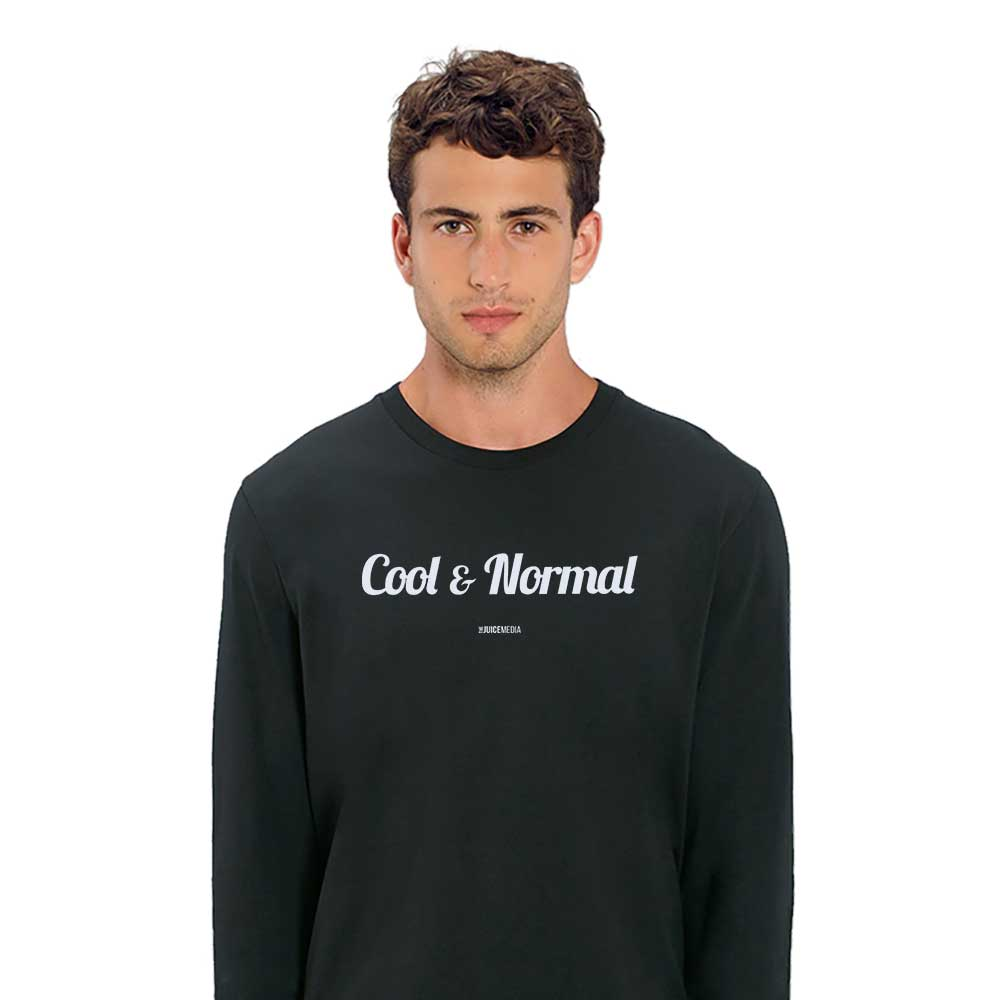 Cool and Normal (NEW), Long-Sleeve, Black - Incl. Delivery (Australia)