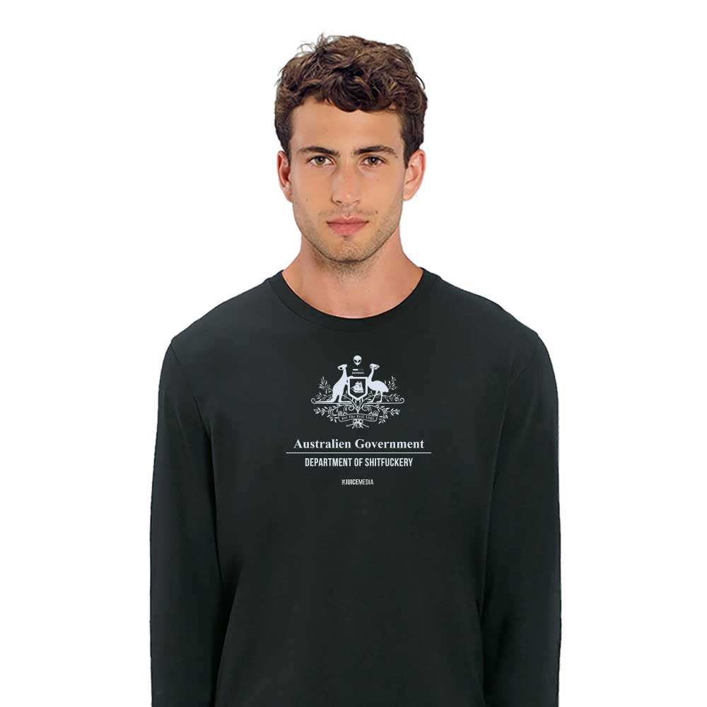 Dept of Sh*tf*uckery, Long-Sleeve, Black - Incl. Delivery (Australia)