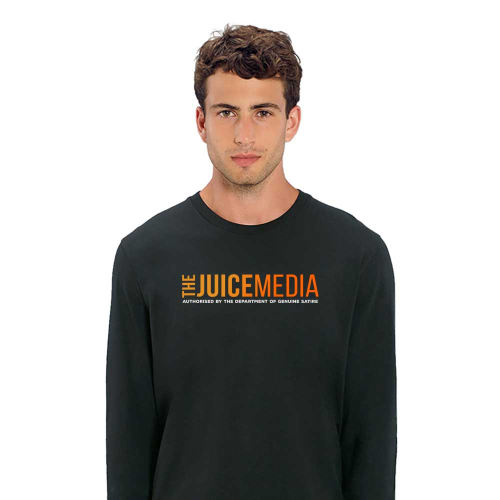 The Juice Media, Long-Sleeve, Black - Incl. Delivery (Australia)