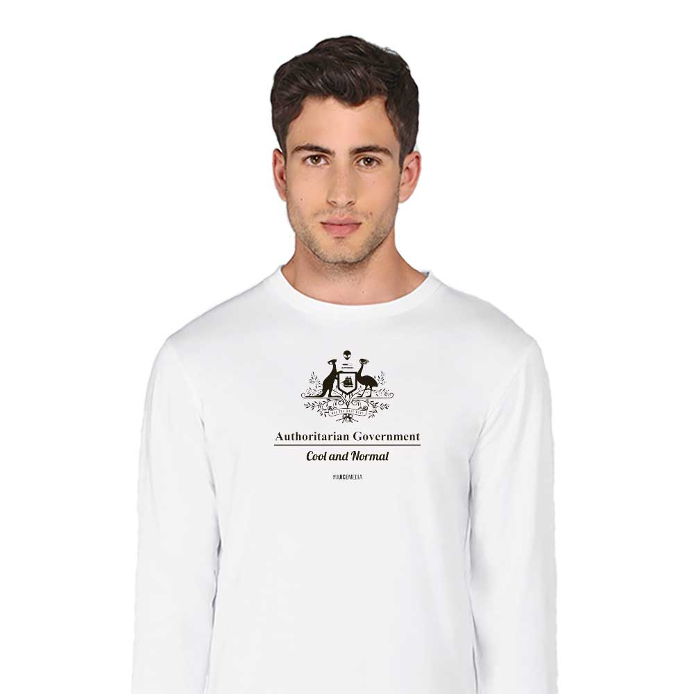 Cool and Normal, Long-Sleeve, White - Incl. Delivery (Australia)