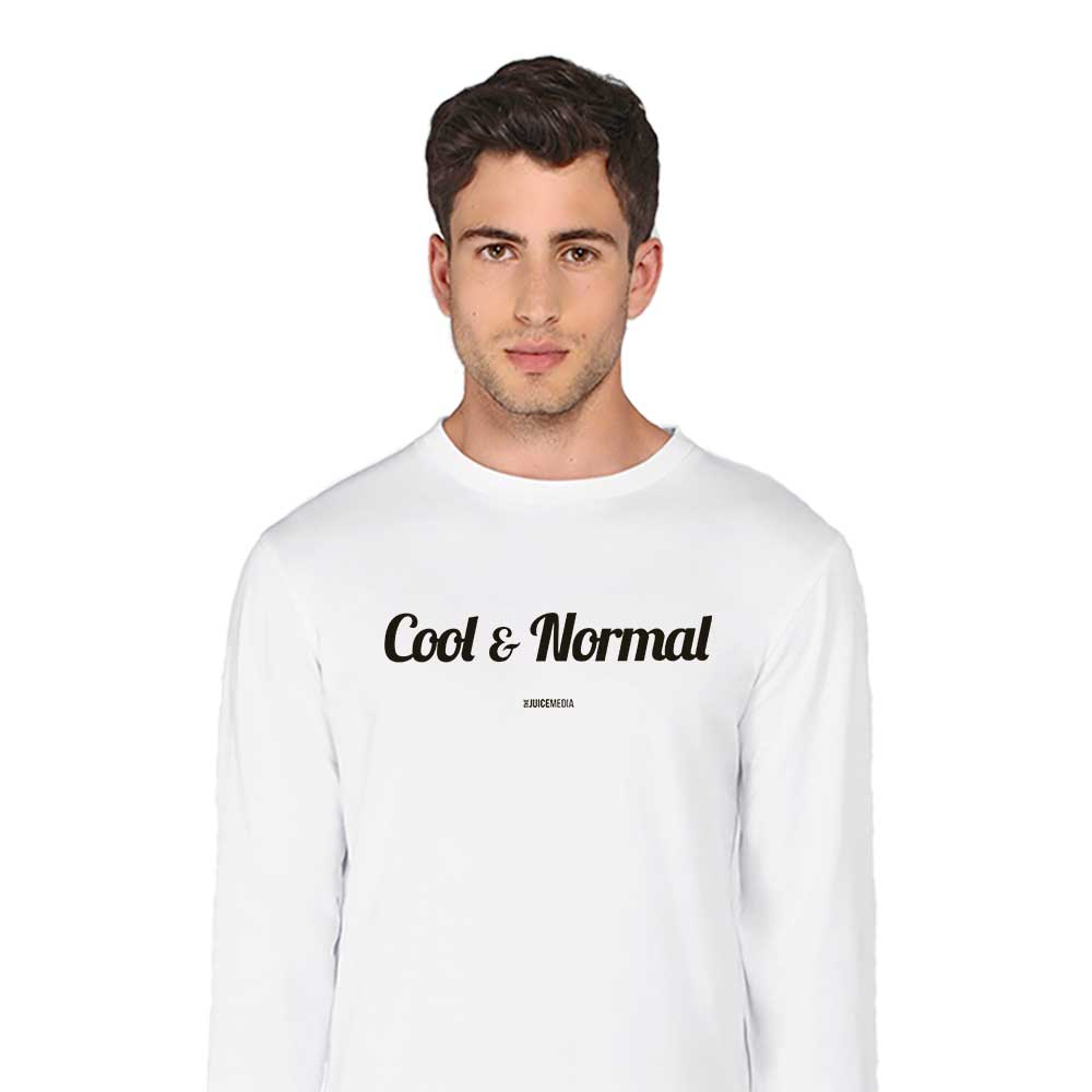 Cool and Normal (NEW), Long-Sleeve, White - Incl. Delivery (Australia)