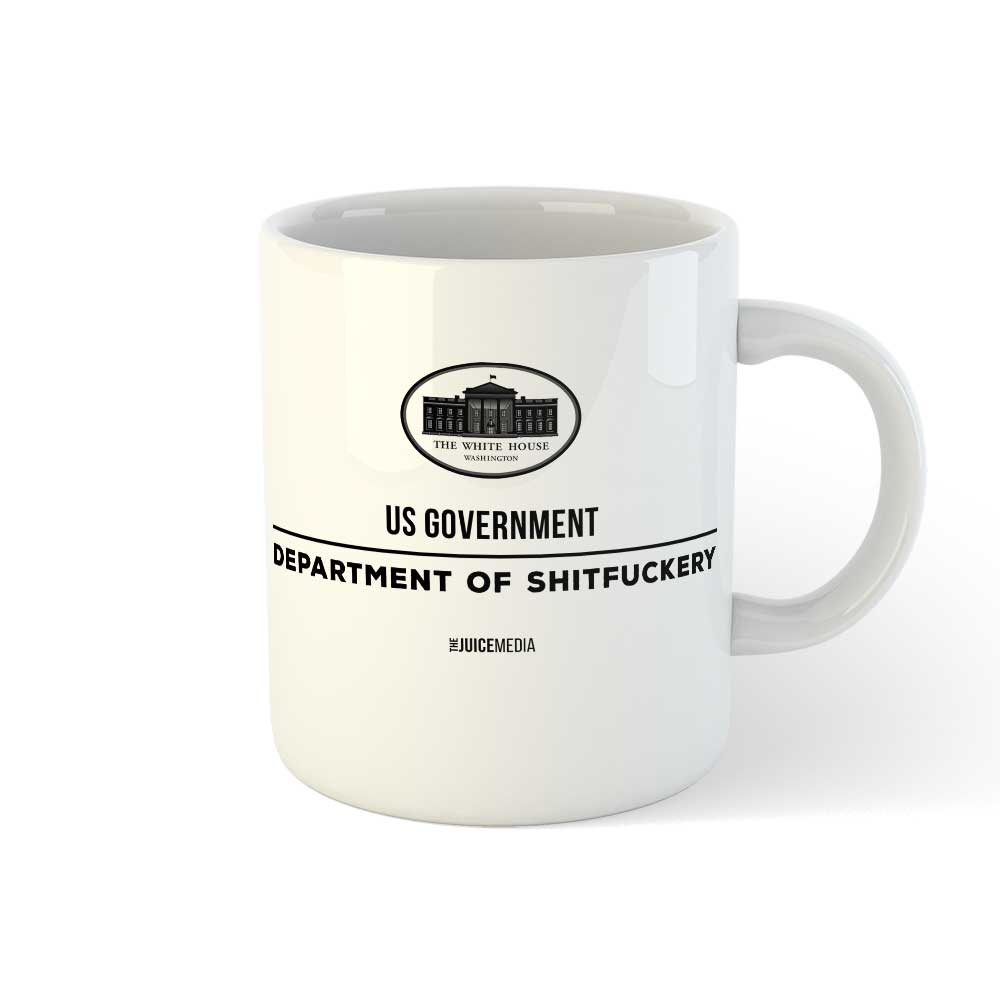 US Government, Mug - Incl. Delivery (Australia)