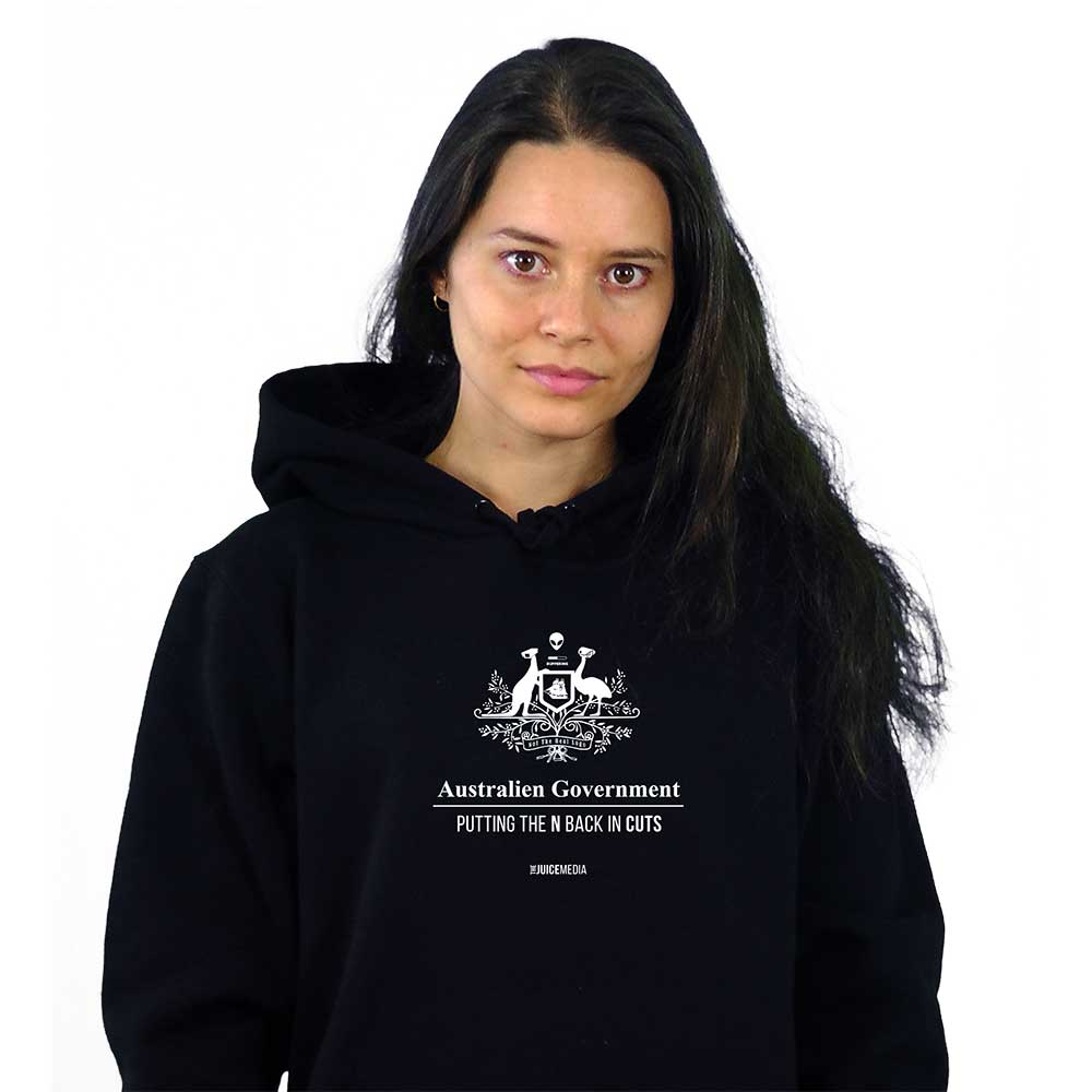CUTS, Hoodie, Black - incl free Delivery Australia wide