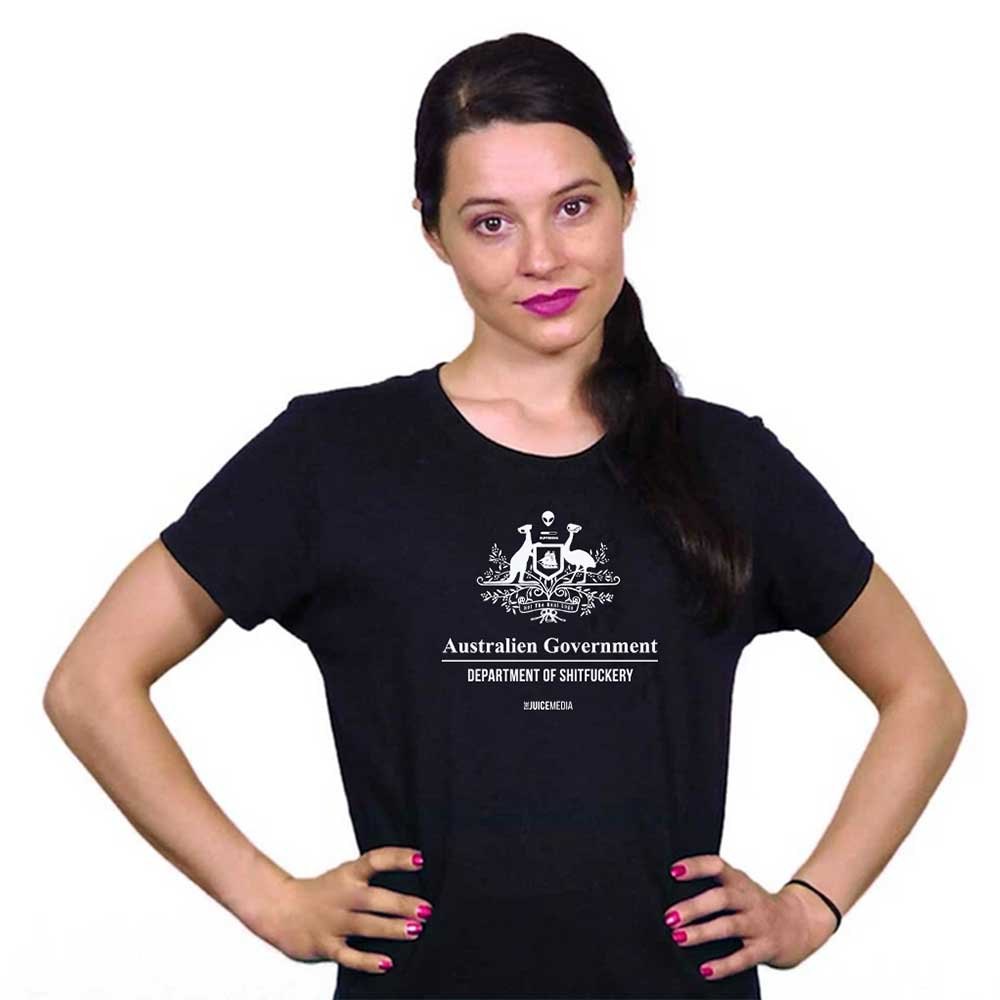 Dept of Sh*tf*ckery, Unisex Tee, Black -  Incl. Delivery (Australia)