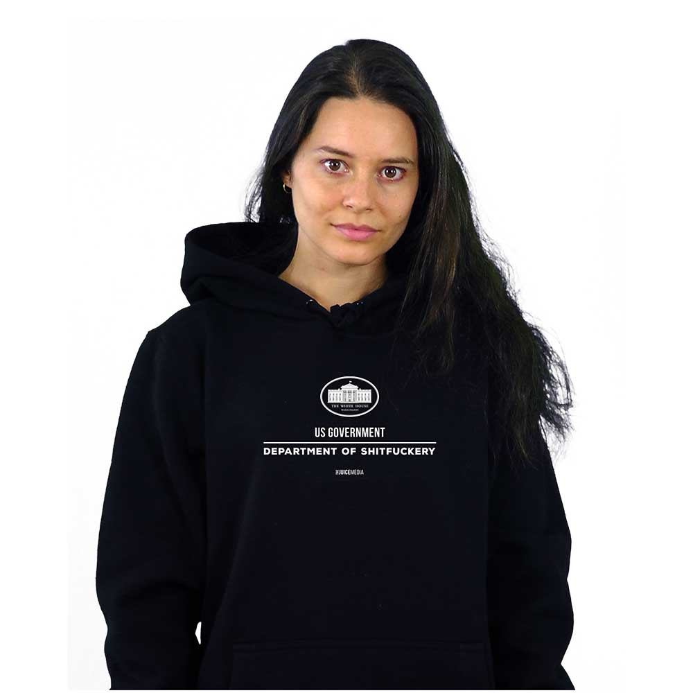 US Government, Hoodie, Black - Incl. Delivery (Australia)