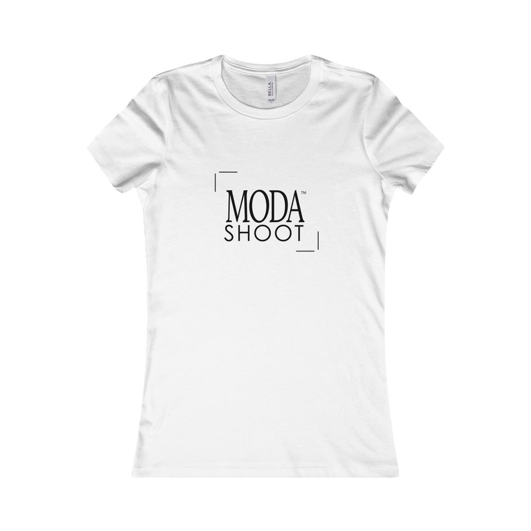 MODA Logo Women's Favorite Tee - White