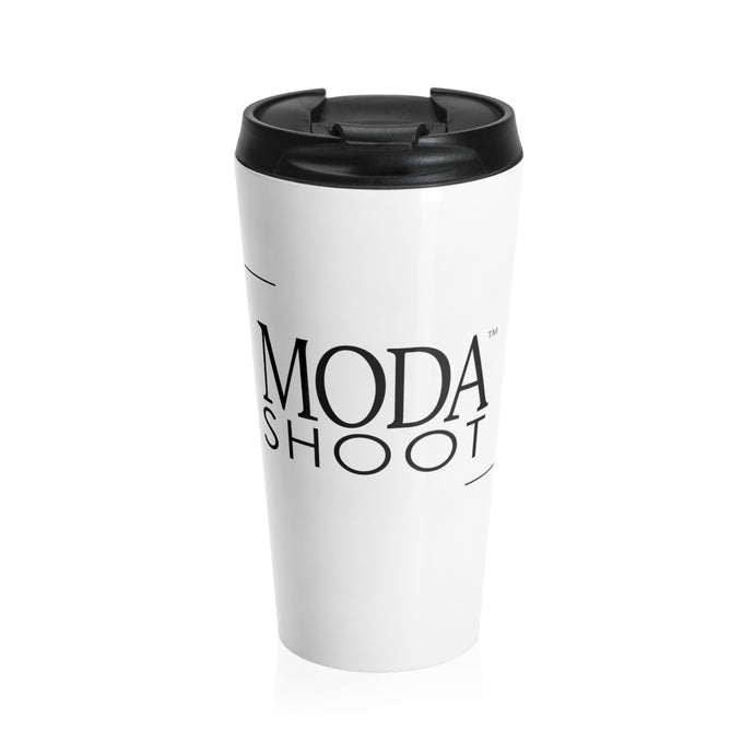 MODA Logo Stainless Steel Travel Mug