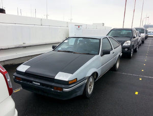 Buying a classic in Japan - a Trueno story