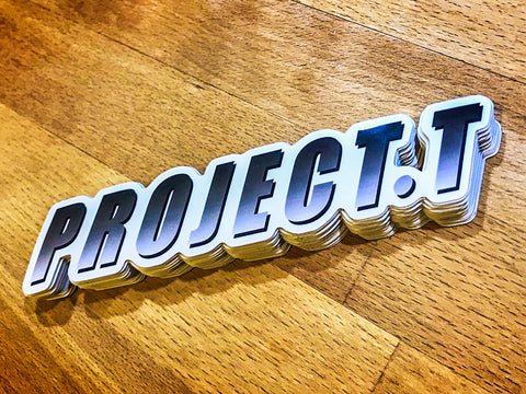'Project T' sticker