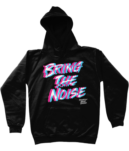 Kids 'Bring The Noise' Hoodie, black