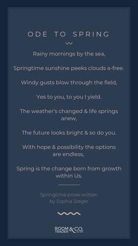 Ode to Spring a verse about the season of Spring