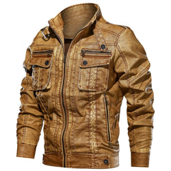 Men's Premium Leather Jacket