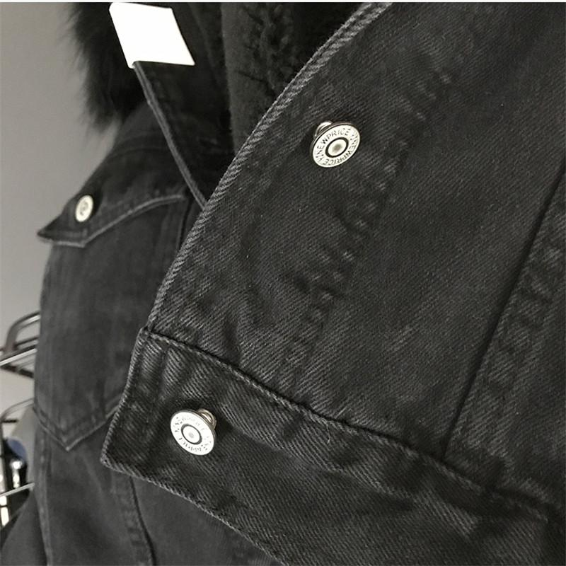 Women's Winter Denim Jacket