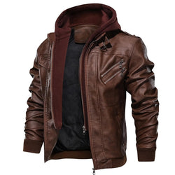 Paolo Dellucci Outwear Leather Jacket