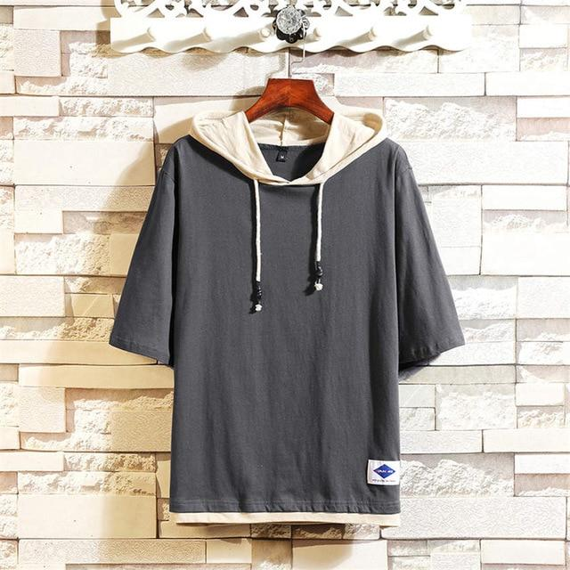 Men's Hooded T-shirt