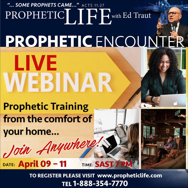 WEBINAR ENCOUNTER: (EUROPE & SOUTH AFRICA) APRIL 2019 REGISTRATION