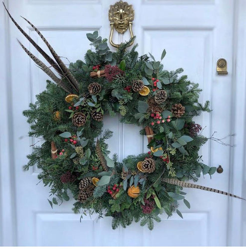 'The Traditional One' - Christmas Wreath - LOCAL DELIVERY