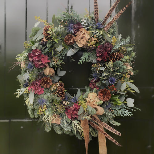 'The Lydia One' - Christmas Wreath - NATIONWIDE DELIVERY