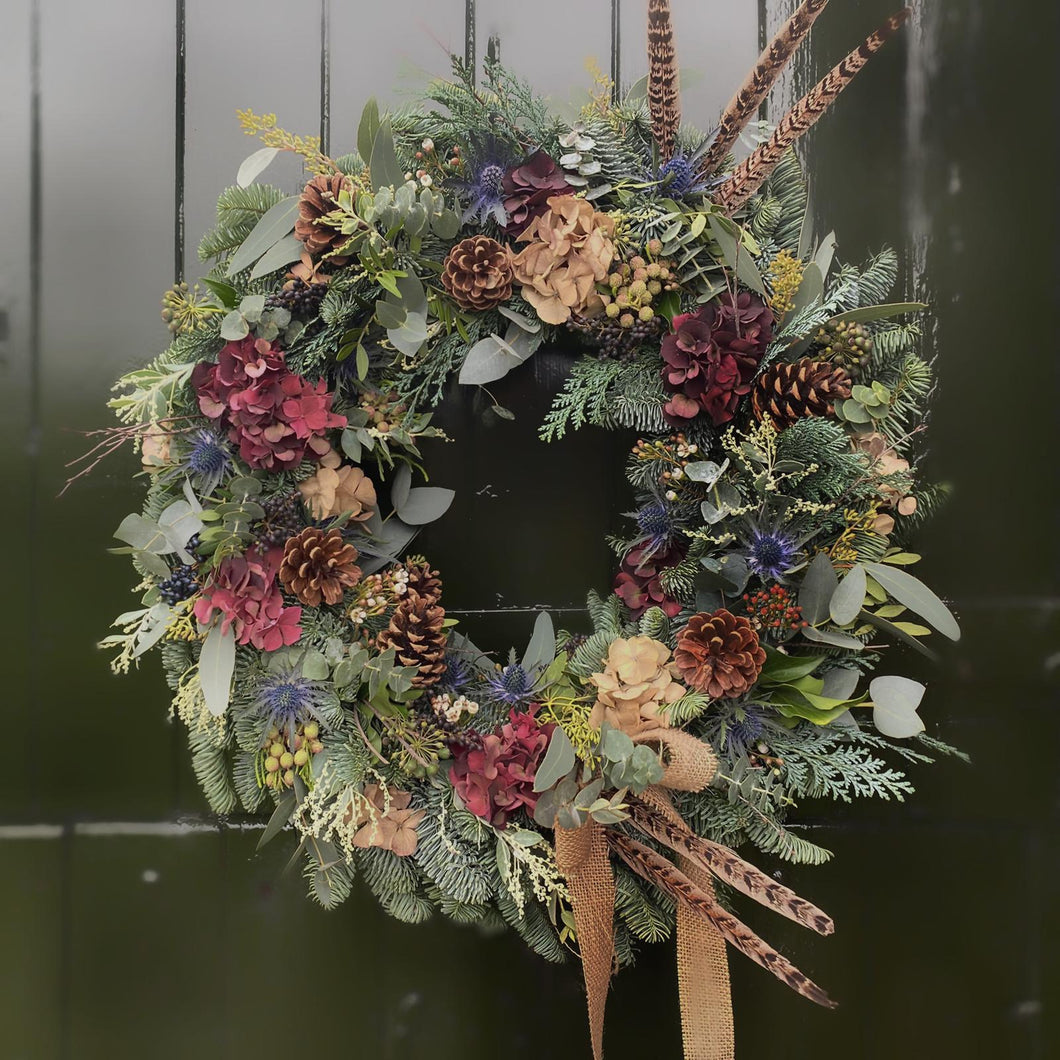 'The Lydia One' - Christmas Wreath - LOCAL DELIVERY